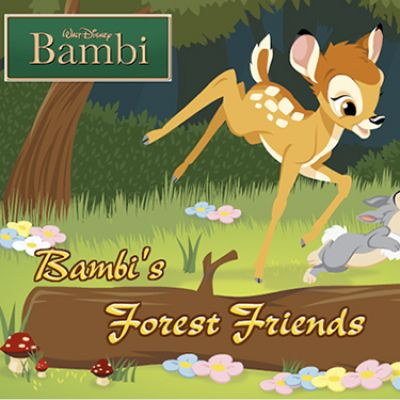 Mighty Play Bambi's Forest Friends CR