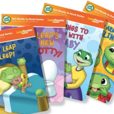 Leapfrog LeapPad Get Ready To Read Series CR