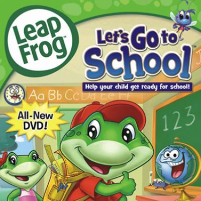 Leapfrog Video Lets Go To School CR