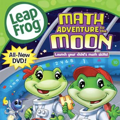 Leapfrog Video Math Adventure To The Moon CR